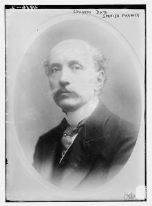 Eduardo Dato primer ministro en 1915