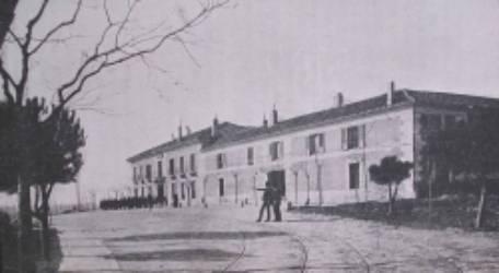 Escuela de ingenieros agrónomos Vista del edificio en la Moncloa